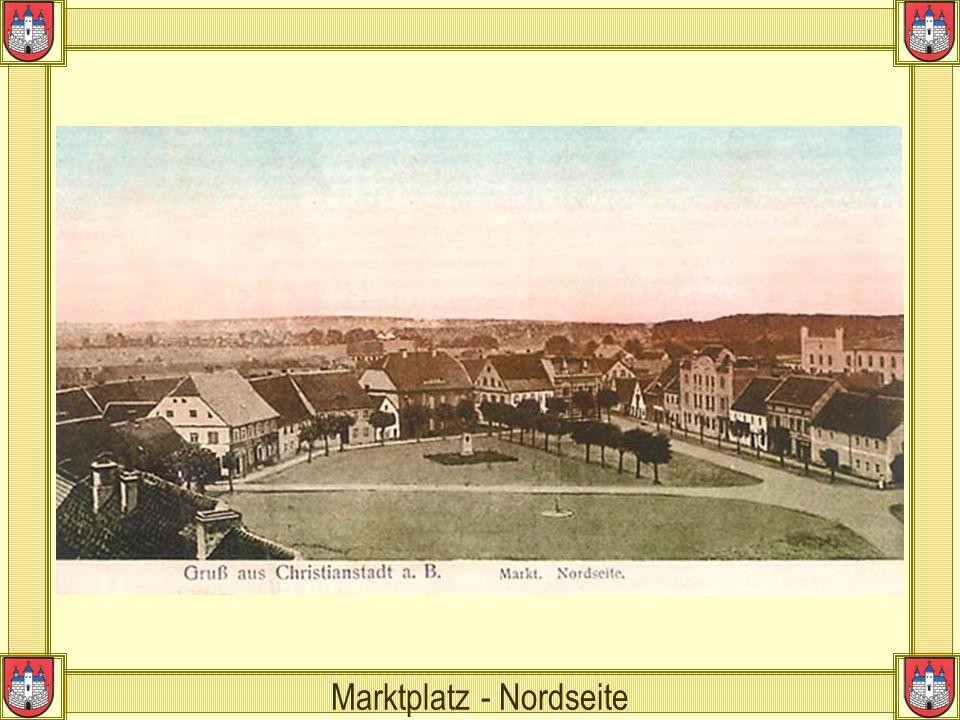 Marktplatz - Nordseite