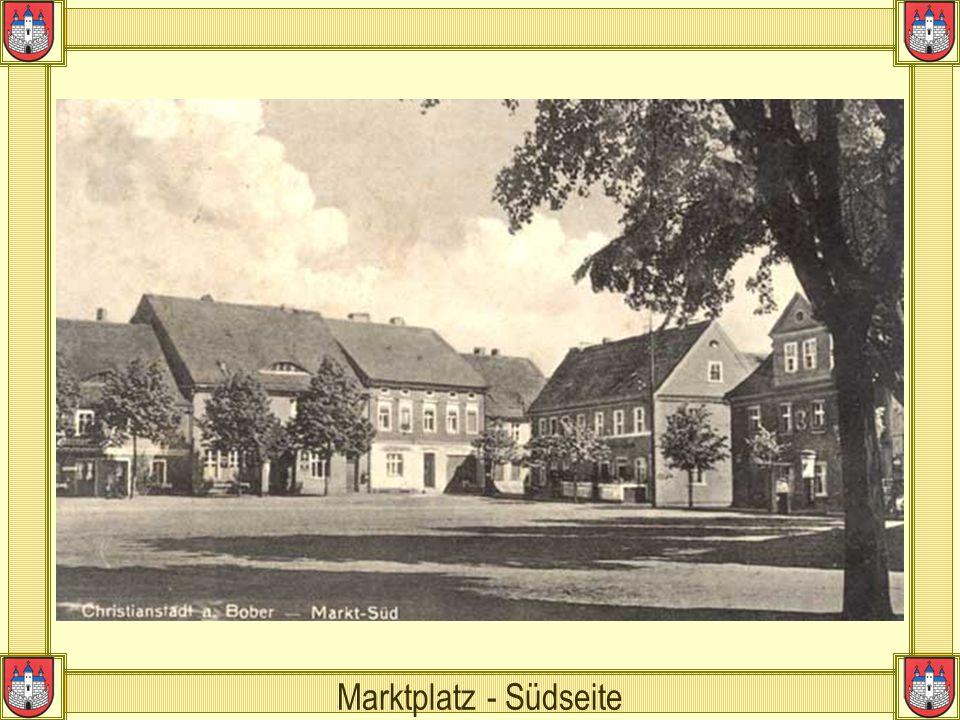 Marktplatz - Südseite