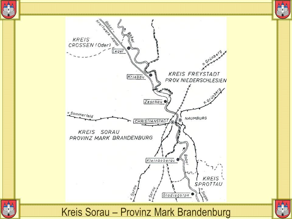 Kreis Sorau – Provinz Mark Brandenburg