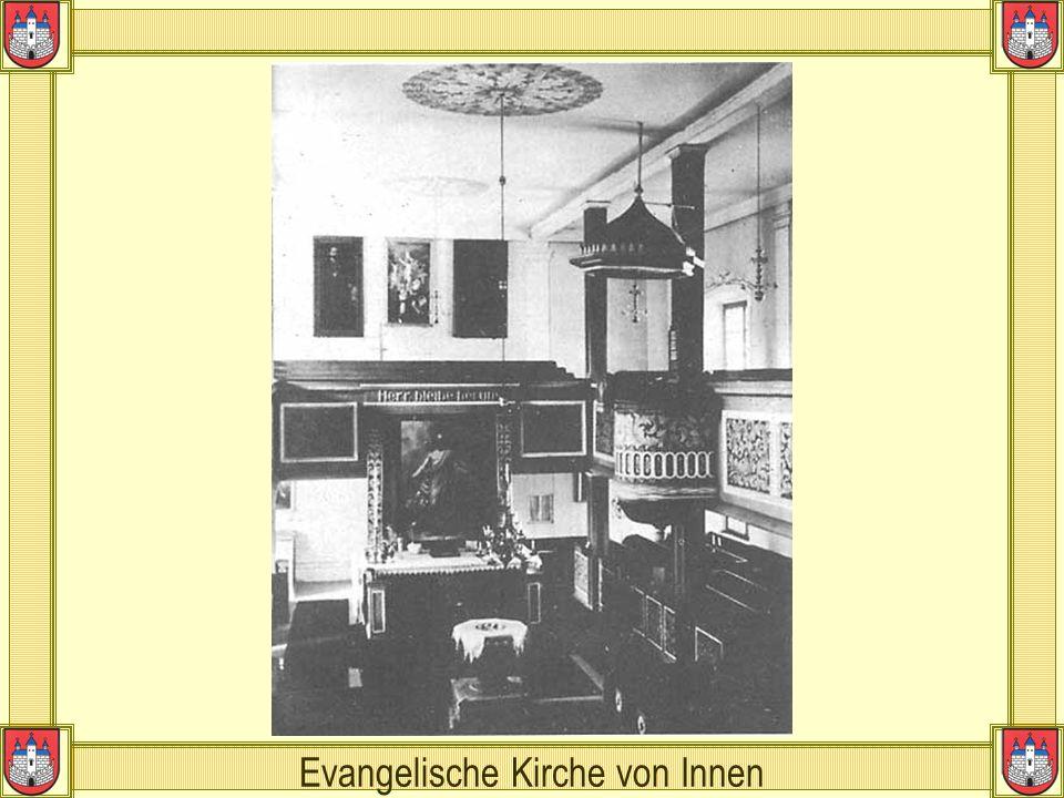 Evangelische Kirche von Innen