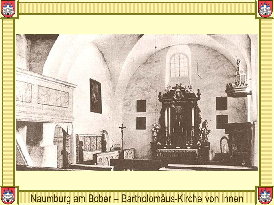 Naumburg am Bober – Bartholomäus-Kirche von Innen