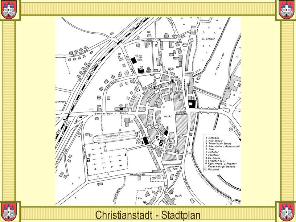 Christianstadt - Stadtplan