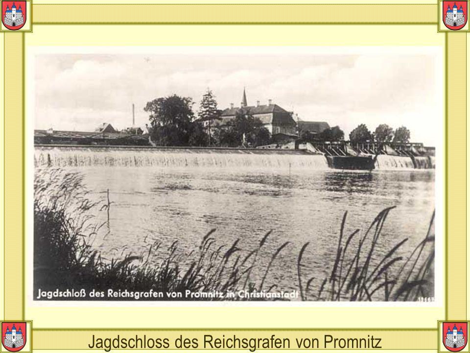 Jagdschloss des Reichsgrafen von Promnitz