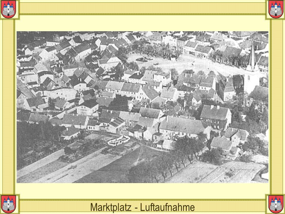 Marktplatz - Luftaufnahme