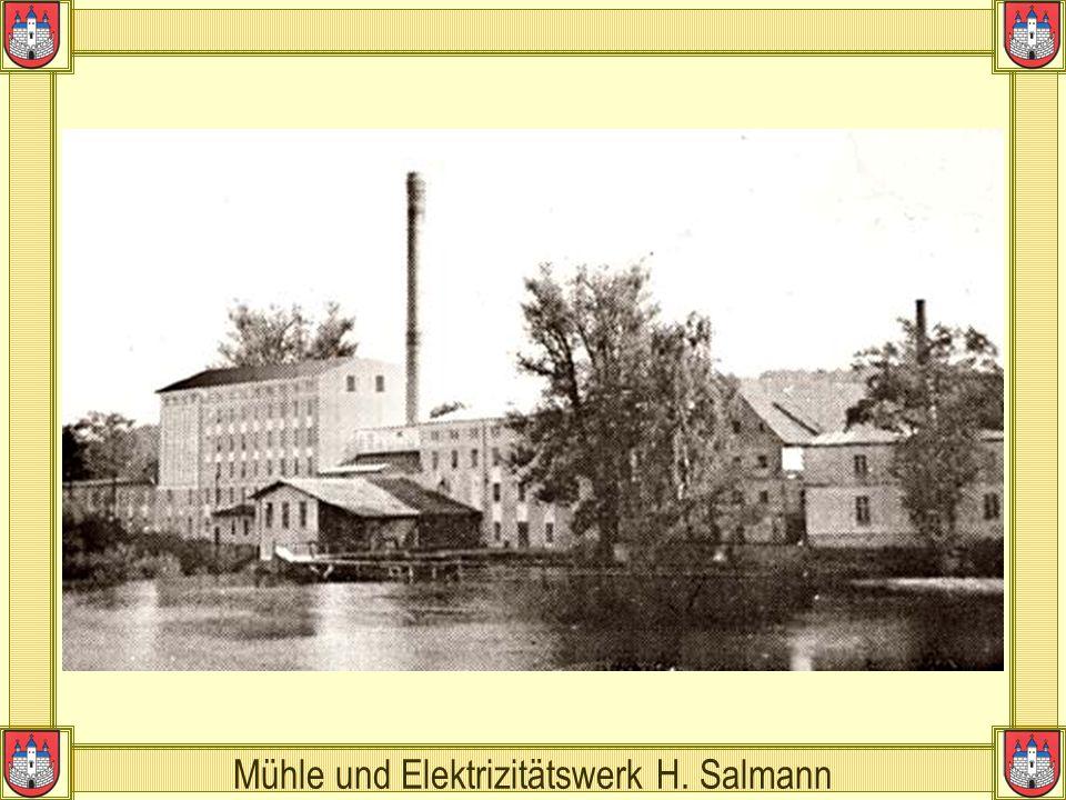 Mühle und Elektrizitätswerk H. Salmann