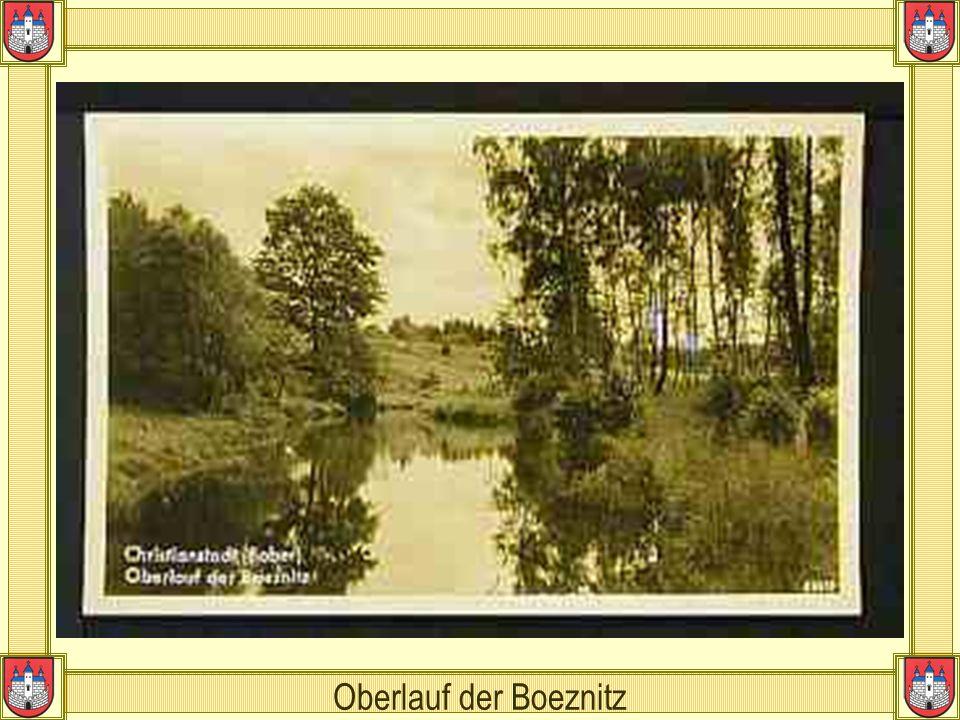 Oberlauf der Boeznitz