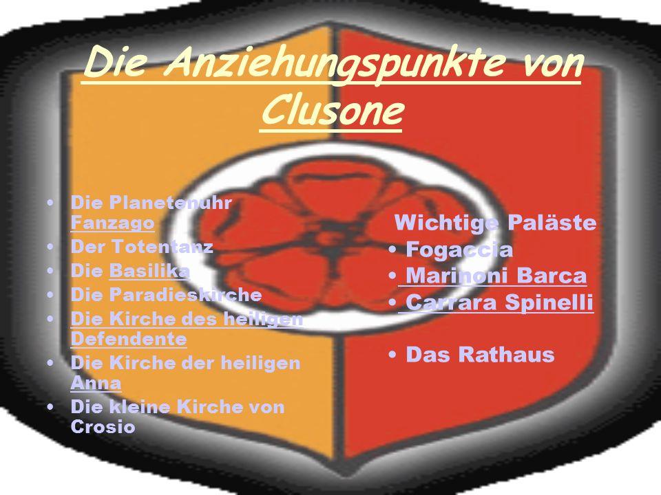 Die Anziehungspunkte von Clusone