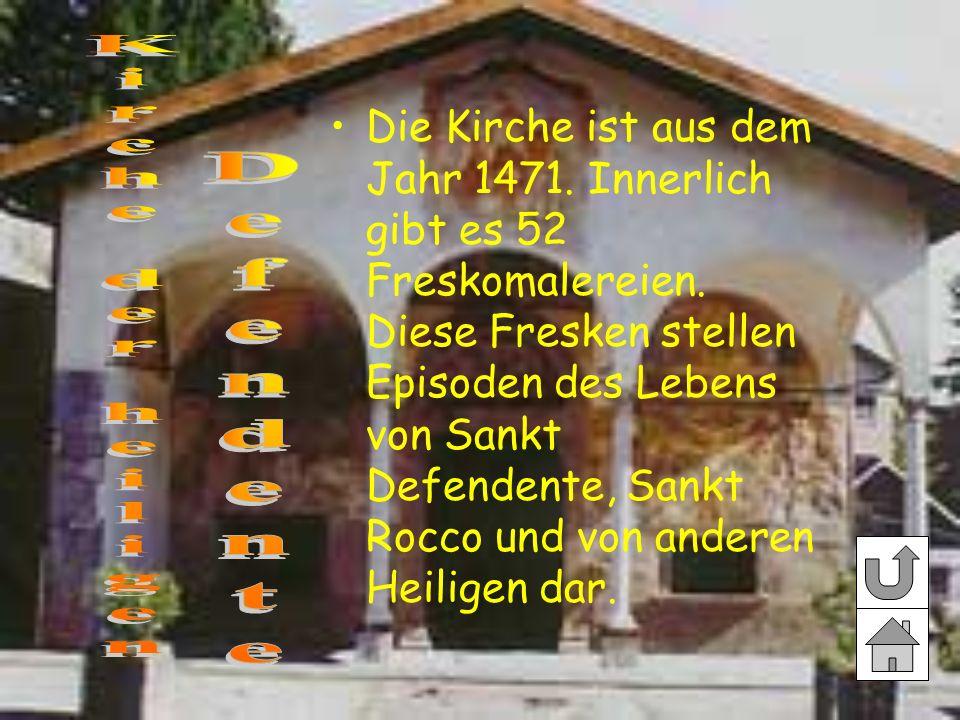 Kirche der heiligen Defendente