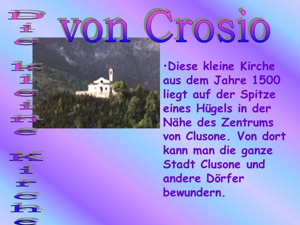 von Crosio Die kleine Kirche