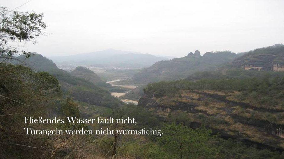 Fließendes Wasser fault nicht,