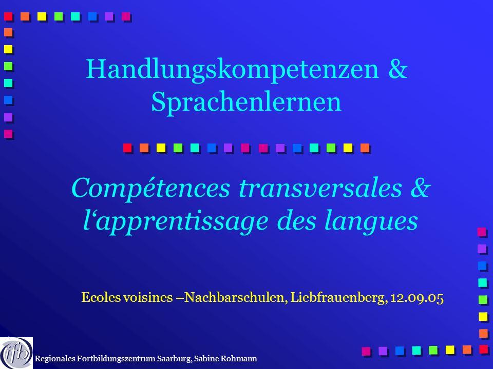 Handlungskompetenzen & Sprachenlernen