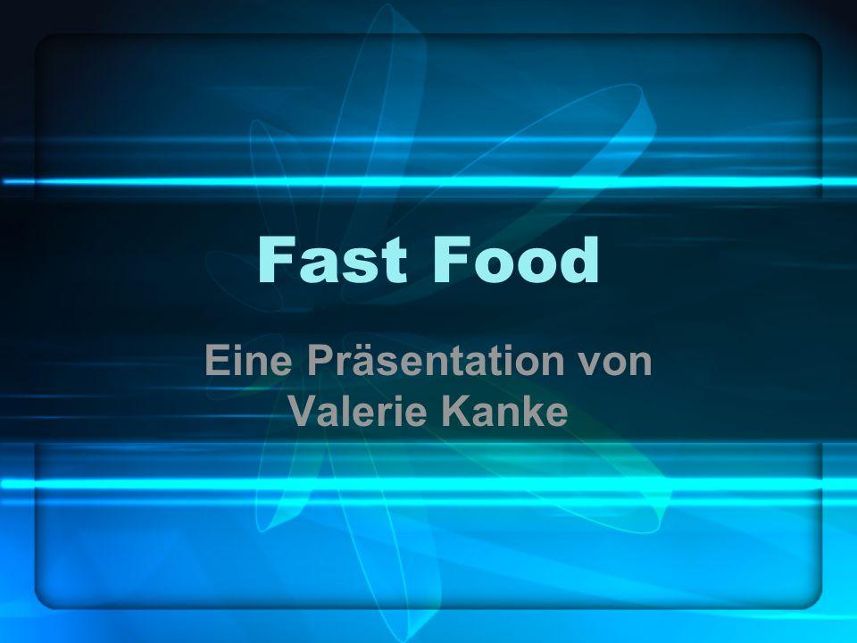 Eine Präsentation von Valerie Kanke