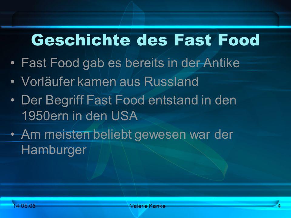 Geschichte des Fast Food