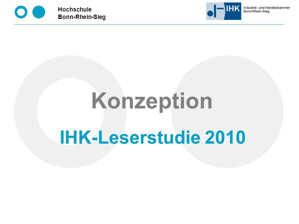 Konzeption IHK-Leserstudie 2010