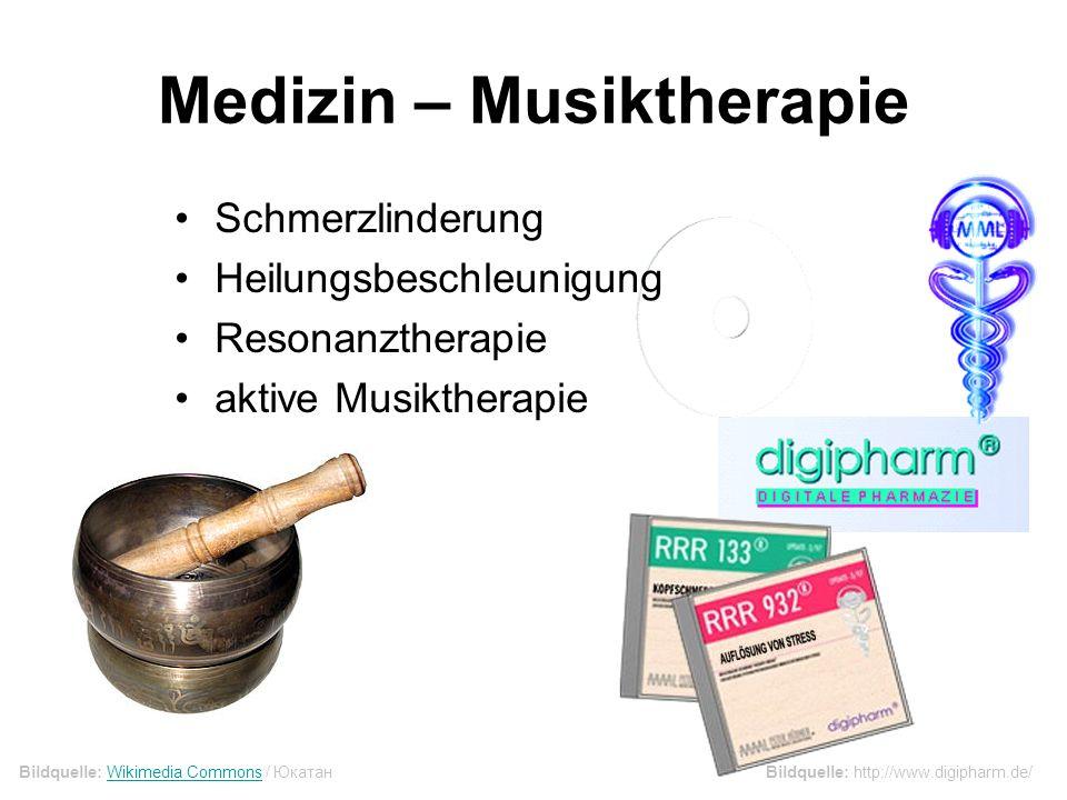 Medizin – Musiktherapie
