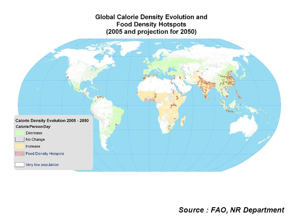 Source : FAO, NR Department
