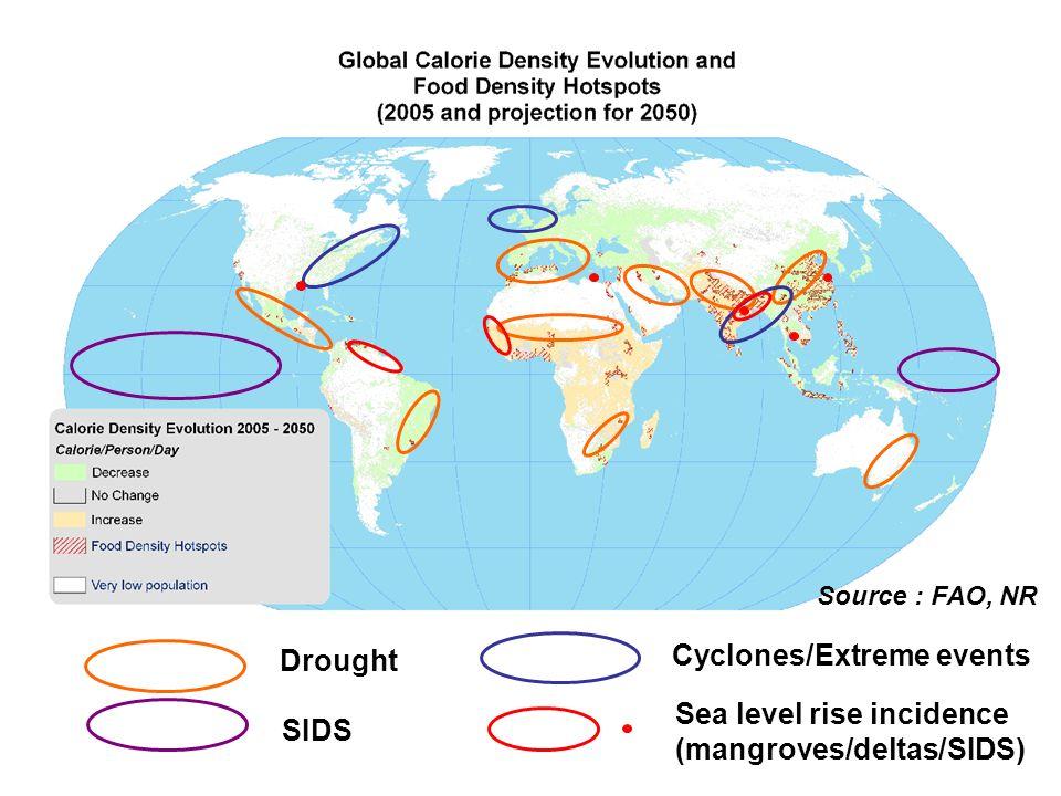 Cyclones/Extreme events