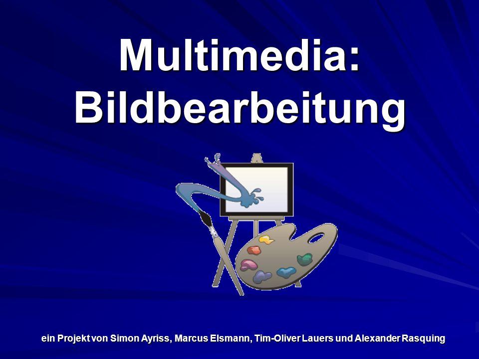 Multimedia: Bildbearbeitung