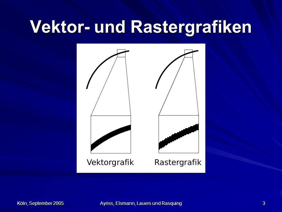 Vektor- und Rastergrafiken