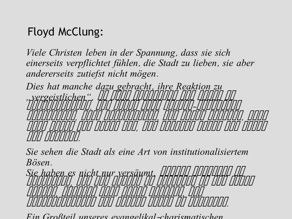 Floyd McClung: