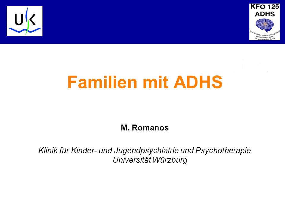 Familien mit ADHS M. Romanos