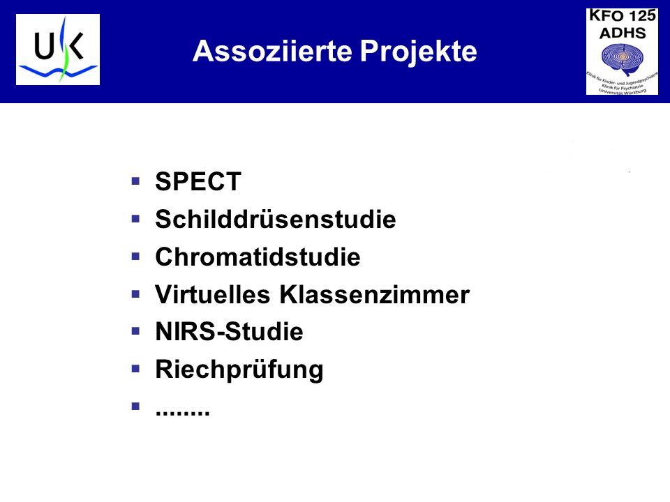 Assoziierte Projekte SPECT Schilddrüsenstudie Chromatidstudie