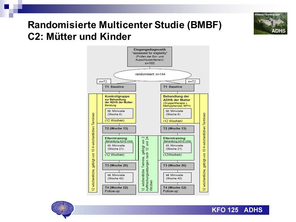 Randomisierte Multicenter Studie (BMBF) C2: Mütter und Kinder