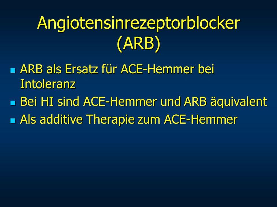 Angiotensinrezeptorblocker (ARB)