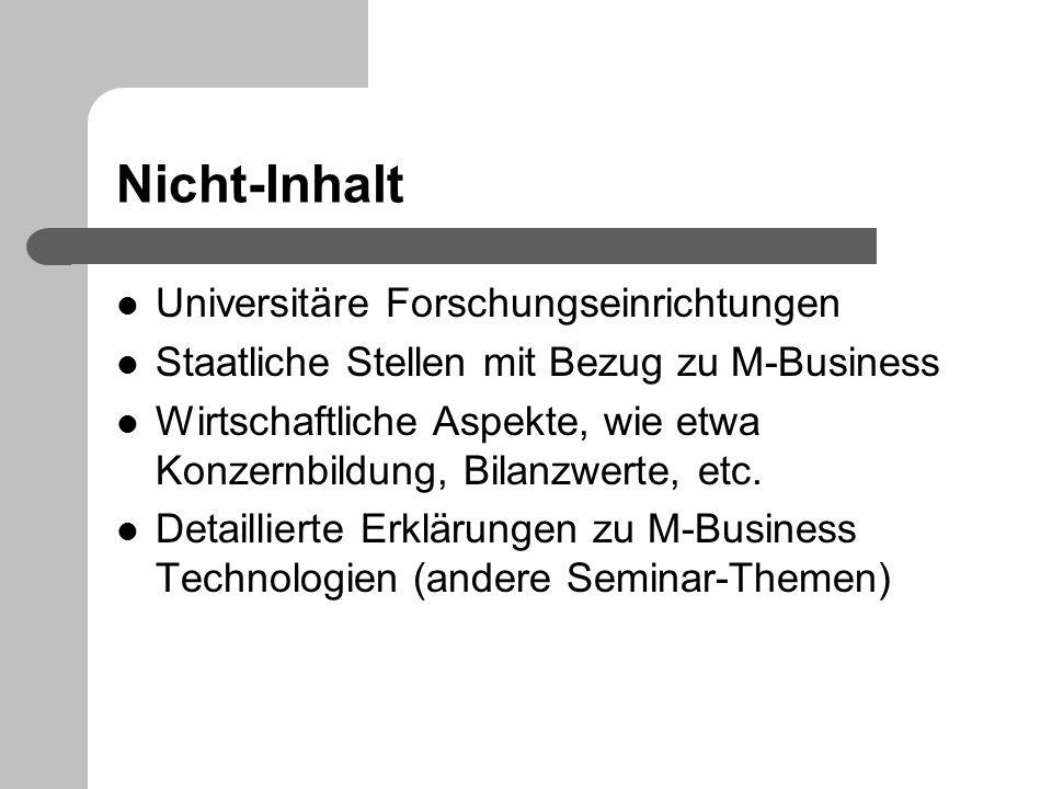 Nicht-Inhalt Universitäre Forschungseinrichtungen