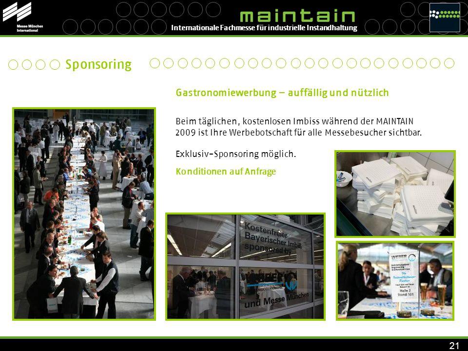 INSTANDHALTUNG 2005 Firmenpräsentation