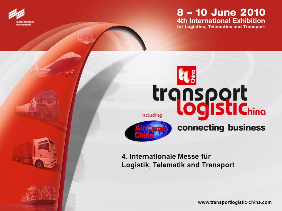 transport logistic China 2010 connecting business