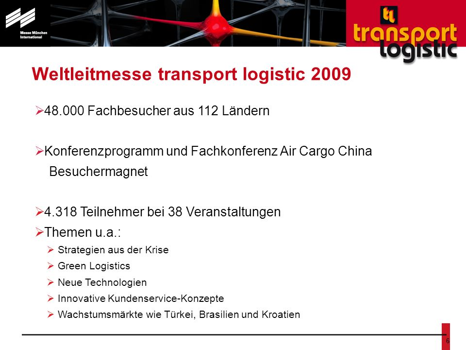 transport logistic China 2008
