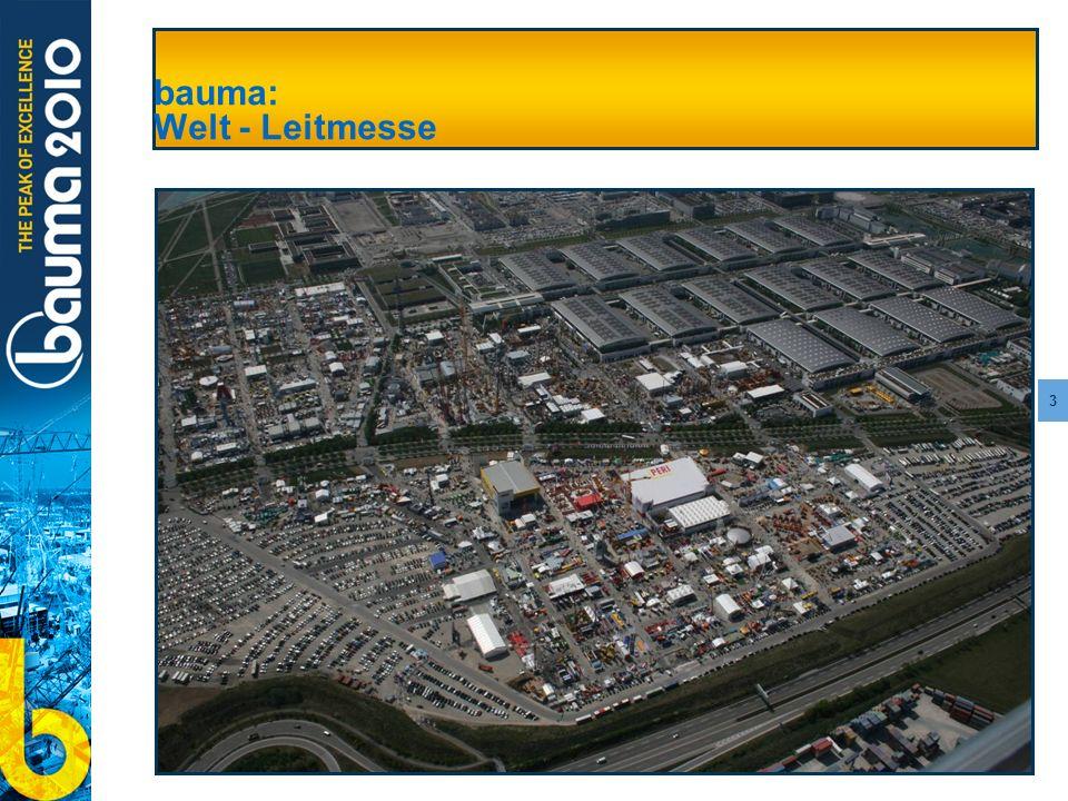 bauma: Welt - Leitmesse
