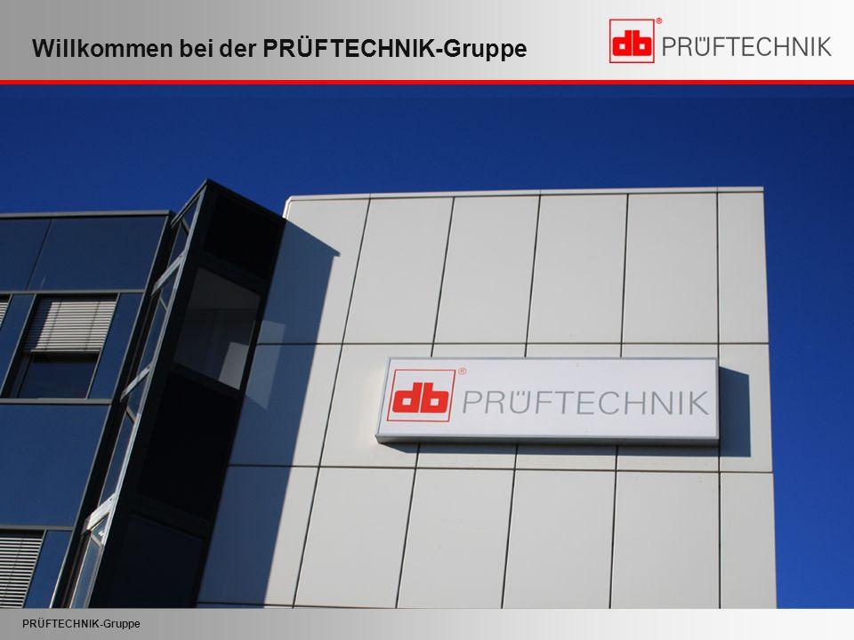 Willkommen bei der PRÜFTECHNIK-Gruppe