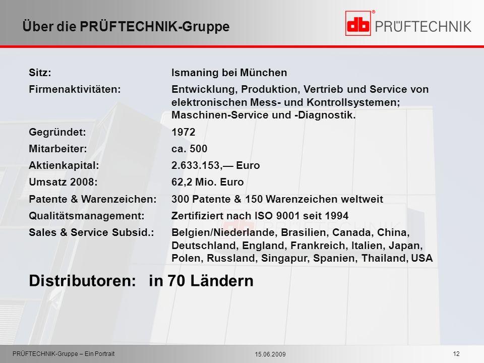 Über die PRÜFTECHNIK-Gruppe