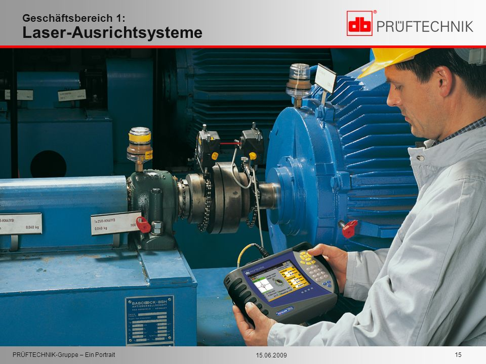 Geschäftsbereich 1: Laser-Ausrichtsysteme