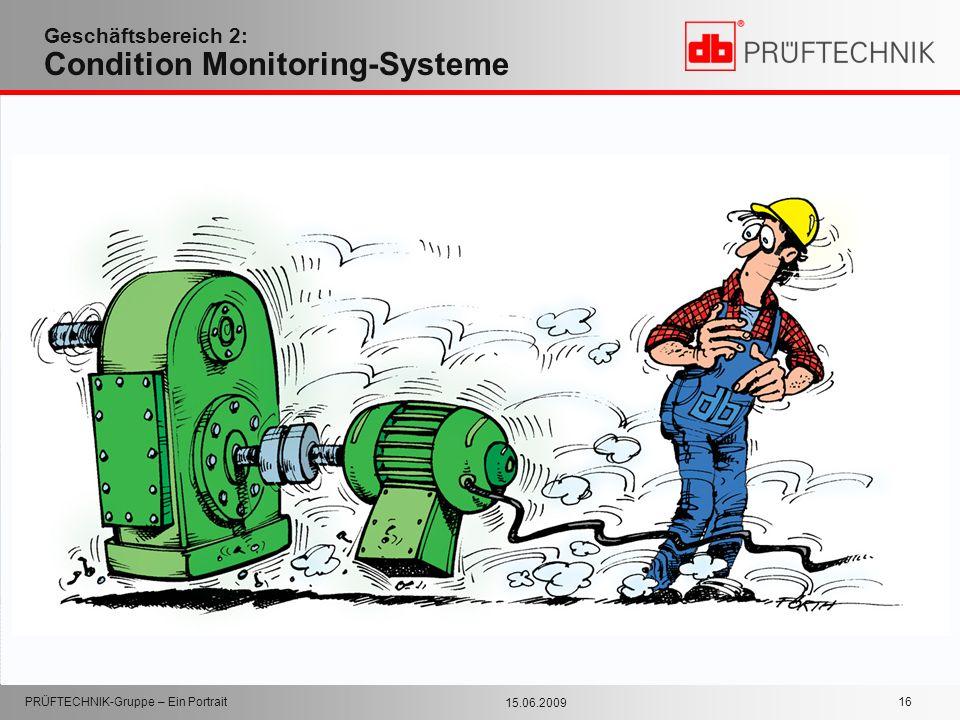 Geschäftsbereich 2: Condition Monitoring-Systeme
