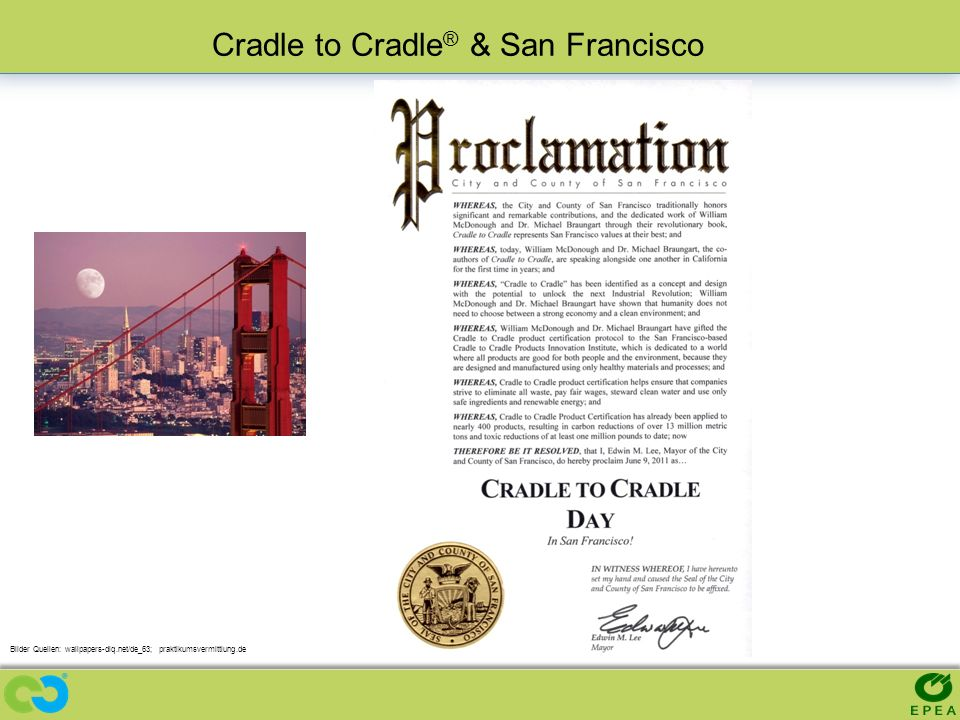 Cradle to Cradle® & San Francisco