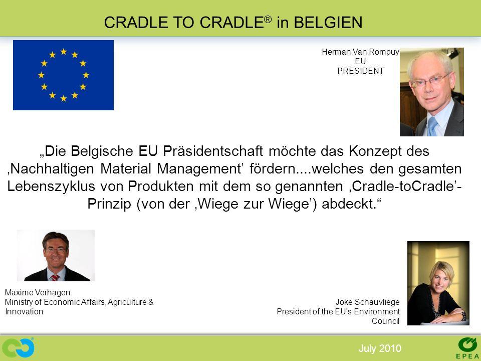 CRADLE TO CRADLE® in BELGIEN