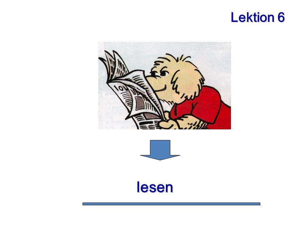 Lektion 6 lesen