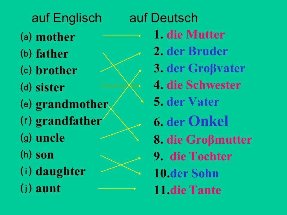 auf Englisch auf Deutsch
