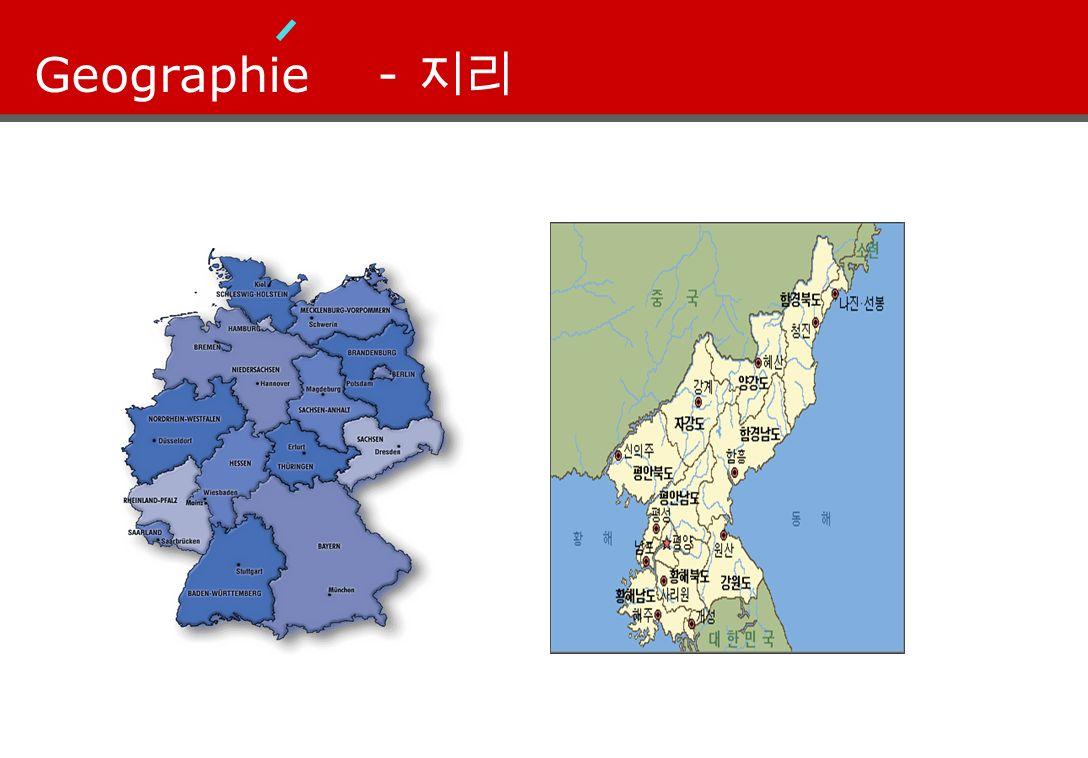 Geographie - 지리