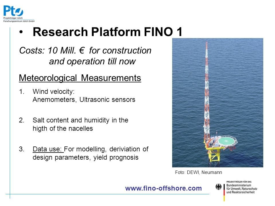 Research Platform FINO 1