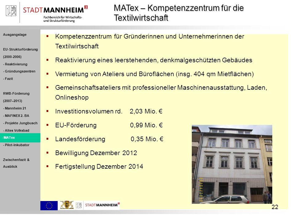 MATex – Kompetenzzentrum für die Textilwirtschaft
