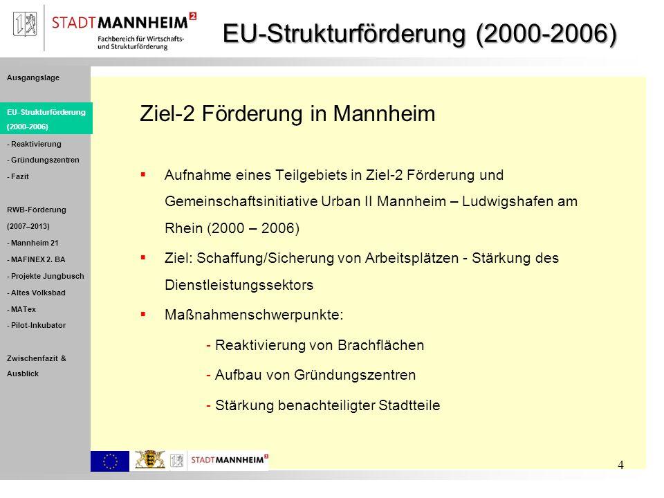 EU-Strukturförderung (2000-2006)