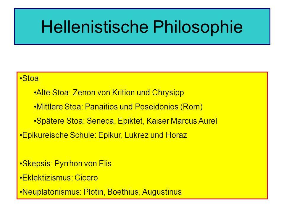 Hellenistische Philosophie