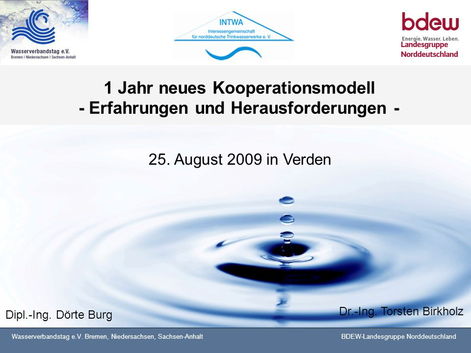 1 Jahr neues Kooperationsmodell - Erfahrungen und Herausforderungen -