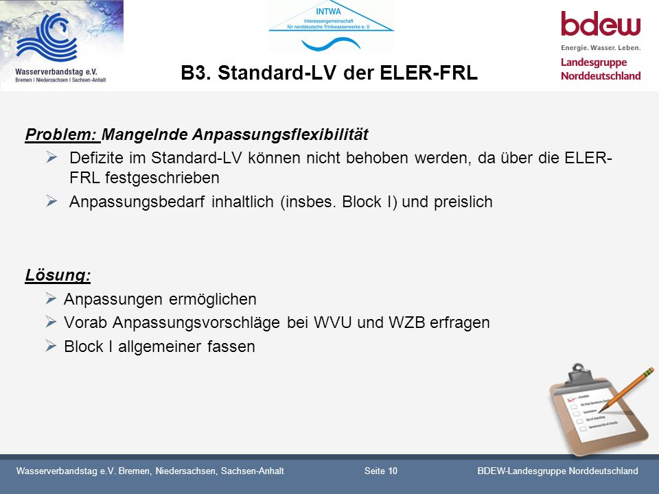 B3. Standard-LV der ELER-FRL