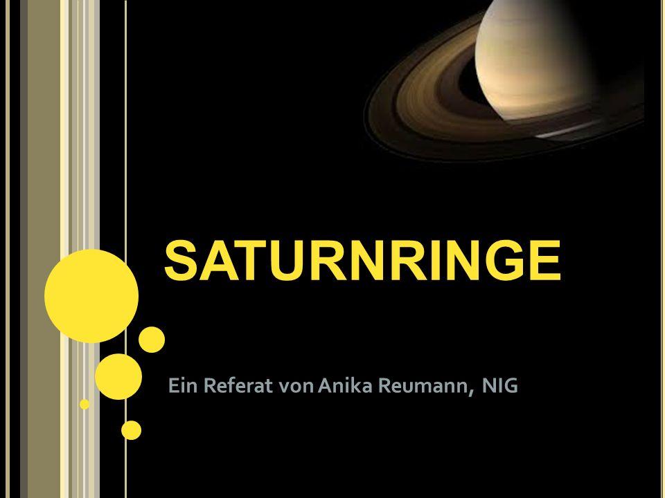 Ein Referat von Anika Reumann, NIG