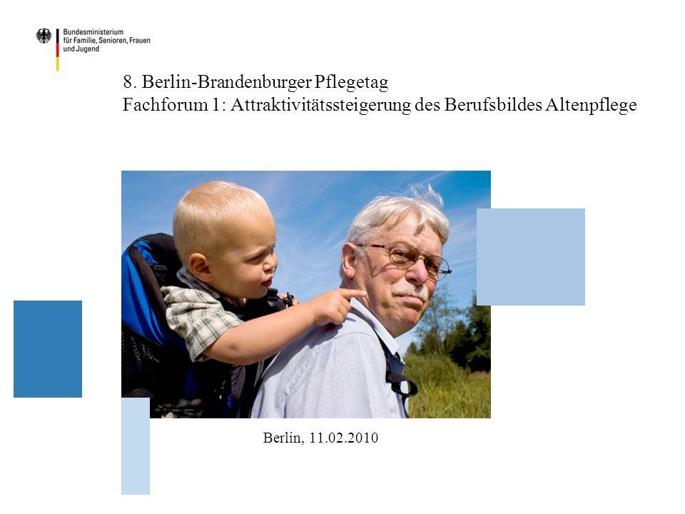 Demografische Effekte – Pflegebedürftige